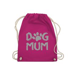 Shirtracer Turnbeutel Dog Mum - Hunde - Turnbeutel - Jutebeutel & Taschen, jute rucksack