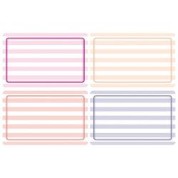 HERMA 10669 Beschriftungsetiketten 52x82 mm pink/lila ablösbar Papier matt Handbeschriftung 80 Stück