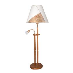 LED Stehlampe beige Leselampen Lampen Leuchten