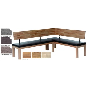 Standard Furniture Catania Eckbank massiv gepolstert
