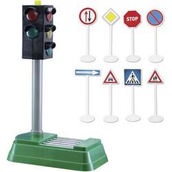 Speed Zone Verkehrsampel mit Licht und Verkehrszeichen