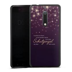 DeinDesign Handyhülle Schutzengel Nokia 5, Hülle Schutzengel Sprüche Spruch