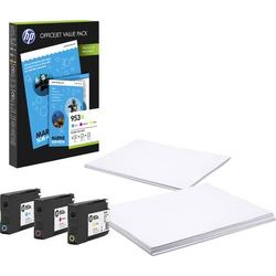 HP 953 XL Tintenpatrone Kombi-Pack Original Cyan, Magenta, Gelb 1CC21AE Druckerpatronen Kombi-Pack