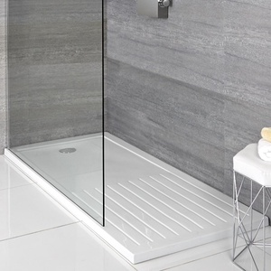 Maxon Rechteck Duschwanne mit Trockenbereich 1400 x 900mm