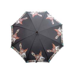 Mars & More Stockregenschirm Mars & More Regenschirm Esel im Stall
