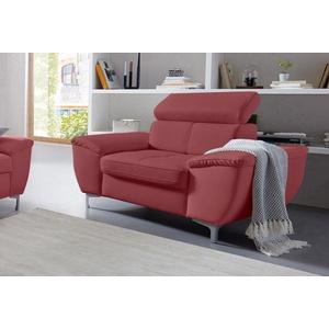 exxpo - sofa fashion Sessel rot 114 cm x 97 cm x 98 cm