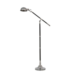 Stehlampe Jersey Silber