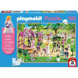 Schmidt Spiele Puzzle Puzzle 150 Teile Playmobil, Hochzeit, Puzzleteile
