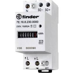 Finder 7E.16.8.230.0010 Wechselstromzähler mechanisch 65A MID-konform: Ja 1St.
