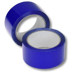 Klebeband Packband PP Acrylatkleber geräuscharm 50mm/66m, blau
