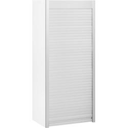 HELD MÖBEL Aufsatzschrank Lou Jalousieschrank, Breite 50 cm weiß