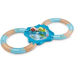 Hape Spielzeug-Eisenbahn Holzschienen Unterwasserwelt