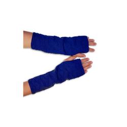 Posh Gear Armstulpen Alpaka Handstulpen 100% Alpakawolle blau