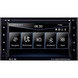 ESX VN630W Navigationsgerät, Festeinbau Europa Bluetooth®-Freisprecheinrichtung, Integriertes Navi