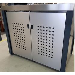 Design Werkstatt Handgefertigte Mülltonnenbox für 2 x 120 l,,2 x 120 l
