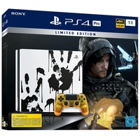 Sony PS4 Pro 1TB schwarz + Death Stranding (Bundle) Limited Edition