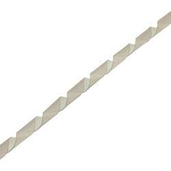 InLine® Spiralband 10m, weiß, 8mm