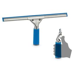 Profi Fensterwischer Fensterabzieher, Blau, V-System 35 cm