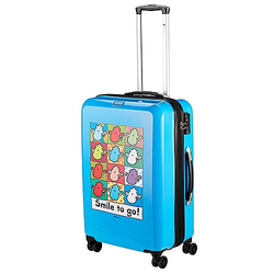 Check In Sheepworld 4-Rollen-Trolley 69 cm - blau