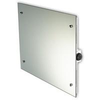 Jollytherm Infrarot-Glasheizkörper 55 x 70 cm 500 W Spiegel