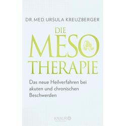 Die Mesotherapie: eBook von Ursula Kreuzberger