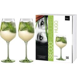Eisch Weinglas Secco Flavoured (2-tlg), (Hugo-Glas), bleifreies Kristallglas, 640 ml