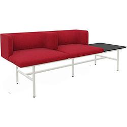 MDD AGORA 2-Sitzer Sofa mit Tisch