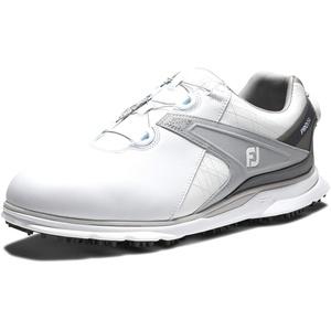 Footjoy Herren Pro Sl Golfschuh, Weiß Grau, 42.5 EU