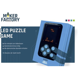MAKERFACTORY LED Puzzle Game Retro-Videospiel ab 14 Jahre