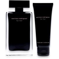 Narciso Rodriguez For Her Eau de Toilette 100 ml + Body Cream 75 ml Geschenkset
