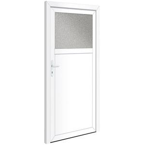 RORO Türen & Fenster Nebeneingangstür OTTO 21, BxH: 98x198 cm, weiß, ohne Griffgarnitur