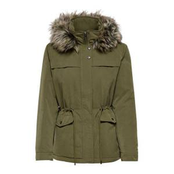 ONLY Short Parka Damen Grün Female M