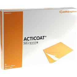 ACTICOAT 10x10 cm antimikrobielle Wundauflage 12 St