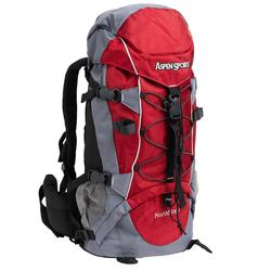 AspenSport North Siope Trekking 55 Liter Rucksack AB06Y02 - Größe:Einheitsgröße