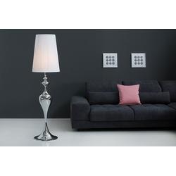 riess-ambiente Stehlampe LUCIE 160cm weiß, Barock Design