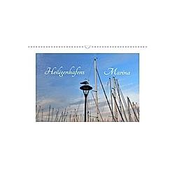 Heiligenhafens Marina (Wandkalender 2021 DIN A3 quer)