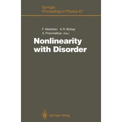 Nonlinearity with Disorder als Buch von