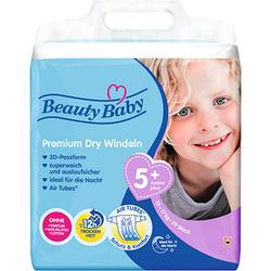 Beauty Baby Windeln Premium Dry Größe Gr.5 (12-17 kg) für Kleinkinder