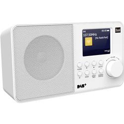 Dual DAB 18 C Kofferradio DAB+, UKW Weiß