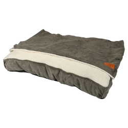 D&D Hundebett/Schlafsack Snuggle Toby grün, Maße: 100 x 70 x 15 cm