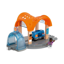 BRIO® Spielzeug-Eisenbahn Smart Tech Sound Bahnhof mit Action Tunnel