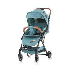 Chipolino Kinder-Buggy Kinderwagen, Buggy Oreo, bis 22 kg Schwenkräder vorne, 1-Hand Faltsystem grün