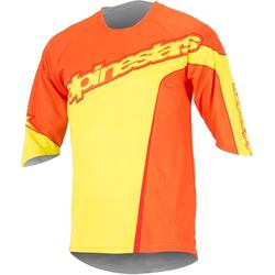 Alpinestars Crest 3/4 Fahrradshirt, gelb, Größe M