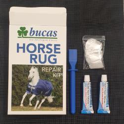 Bucas Repair Kit, Reparaturset für Pferdedecken