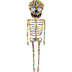 Tie-Dye Skeleton Kite, 13 ft.