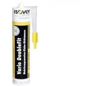 ISOVER Vario DoubleFit Klebe- u. Dichtmasse - 310 ml Kartusche | lösemittelfrei | geruchsneutral | für alle Anwendungen | Lag. 1702164