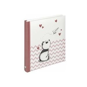 Walther Baby Little Panda rosa 28x30,5 50 weiße Seiten UK281R