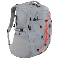 Rucksack The North Face Borealis pack mid grey/juicy red