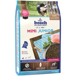 Bosch Petfood Trockenfutter Mini Junior, 3 kg