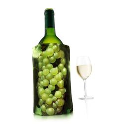 VACUVIN Weinkühler Aktiv Grüne Traube, Aktiv-Kühlmantel grün